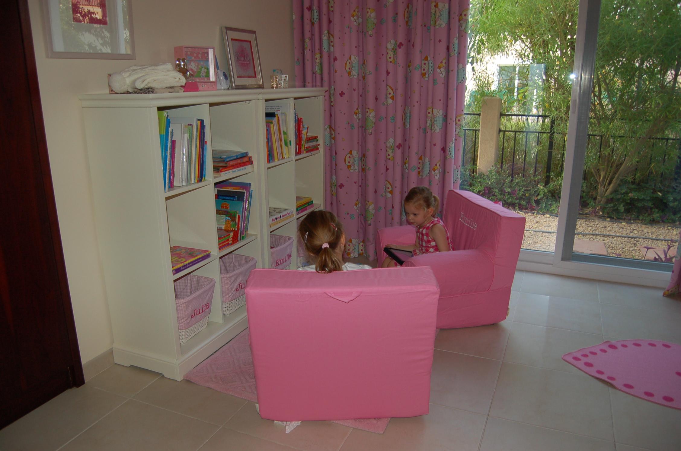 Nieuwe kamer voor de meiden kurt sanne julia en emilie frenier - Deco slaapkamer meisje jaar ...